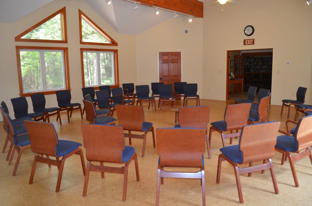 Meetinghouse worship space good