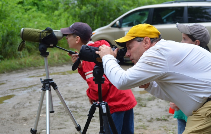 Canterbury 4H birding 18 July 18 2017 Up Scopes