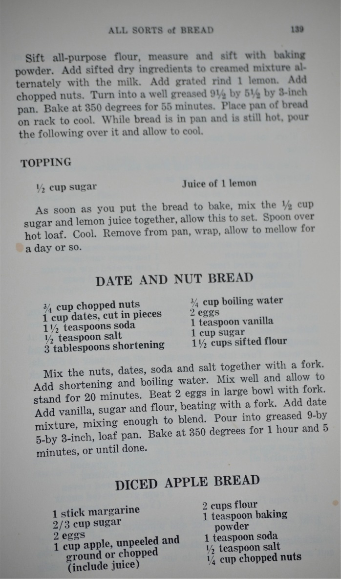 Diced apple bread recipe (2)